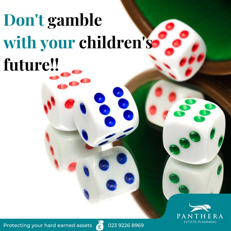 Don't gamble with your children's future