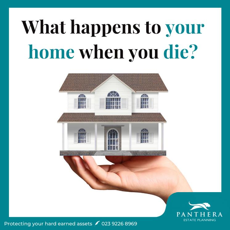 What happens to your home when you die?